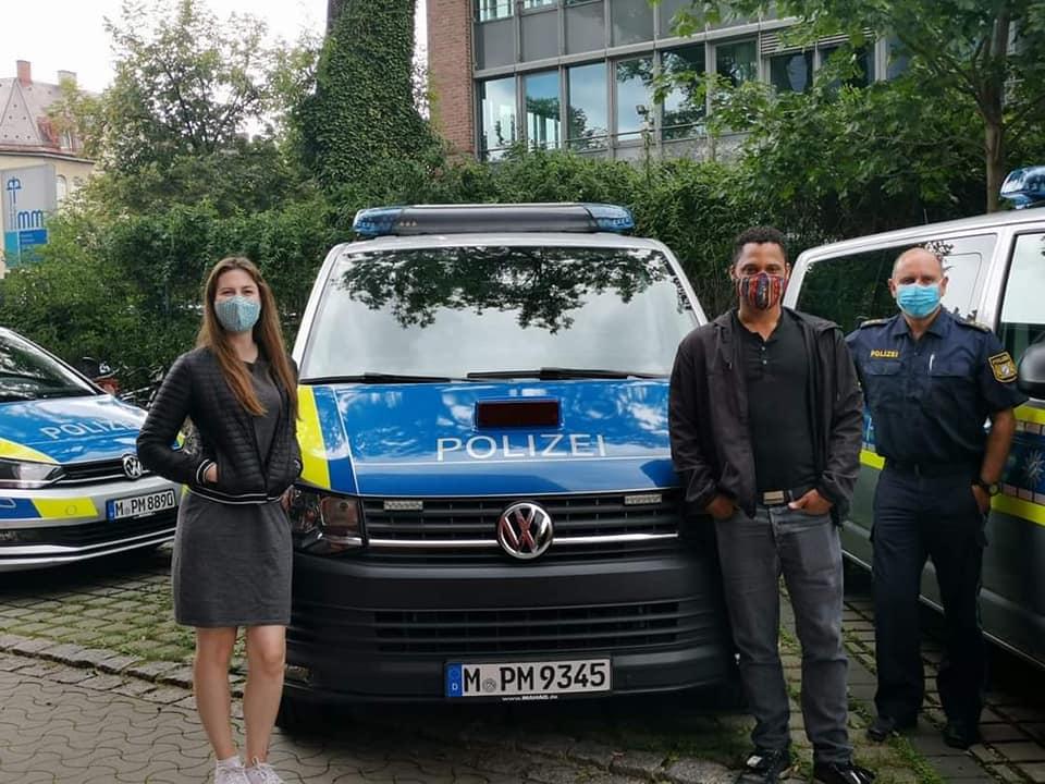 Austausch bei der Polizeiinspektion 42 in Neuhausen